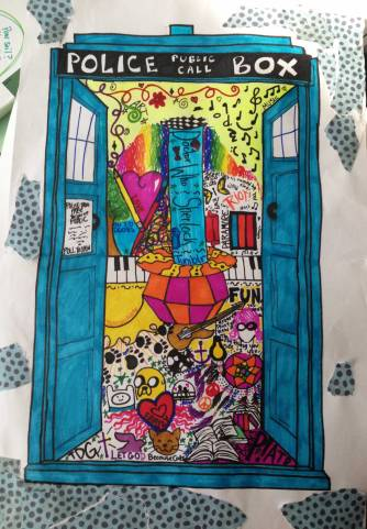 The TARDIS - her life is bigger on the inside